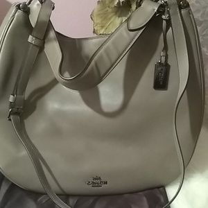 Coach Bags - Coach Nomad Dark fog color shoulder bag.